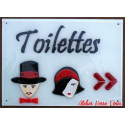 """Panneaux """"Toilettes"""""""