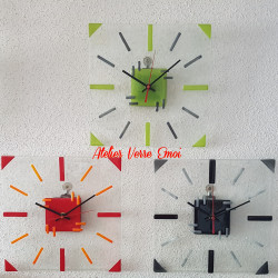 """Grande Horloge """"Graphique"""""""