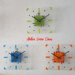 """Petite Horloge """"Graphique"""""""