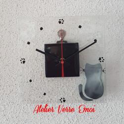 """Petite Horloge """"Chat"""""""