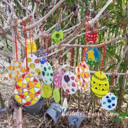 Suspensions Oeuf de Pâques