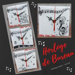 """Horloges de Bureau """"Musique"""""""